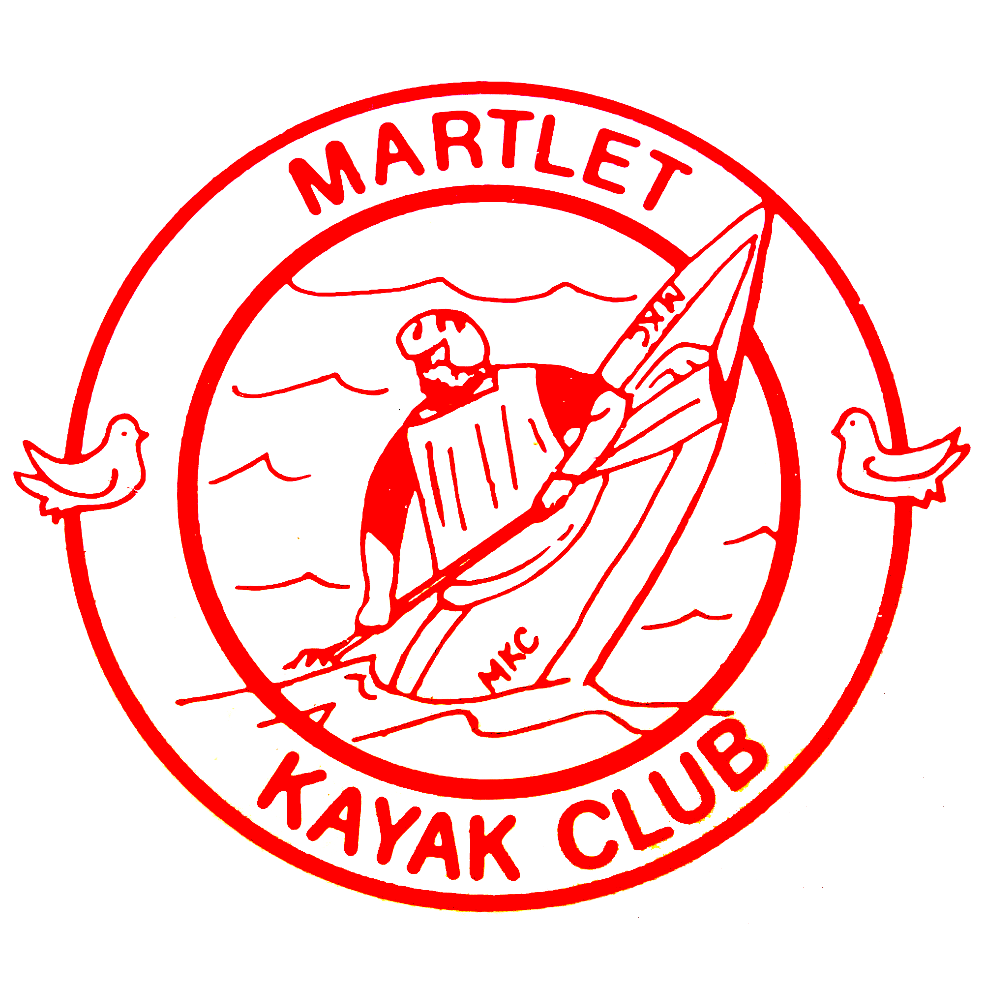 Martlet Kayak Club logo