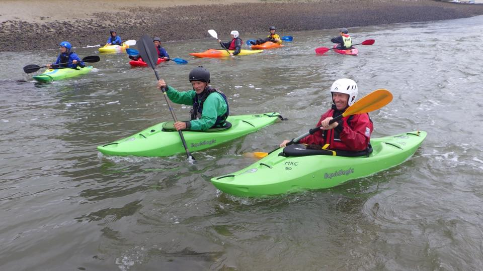 Moving Water Practice on the River Adur