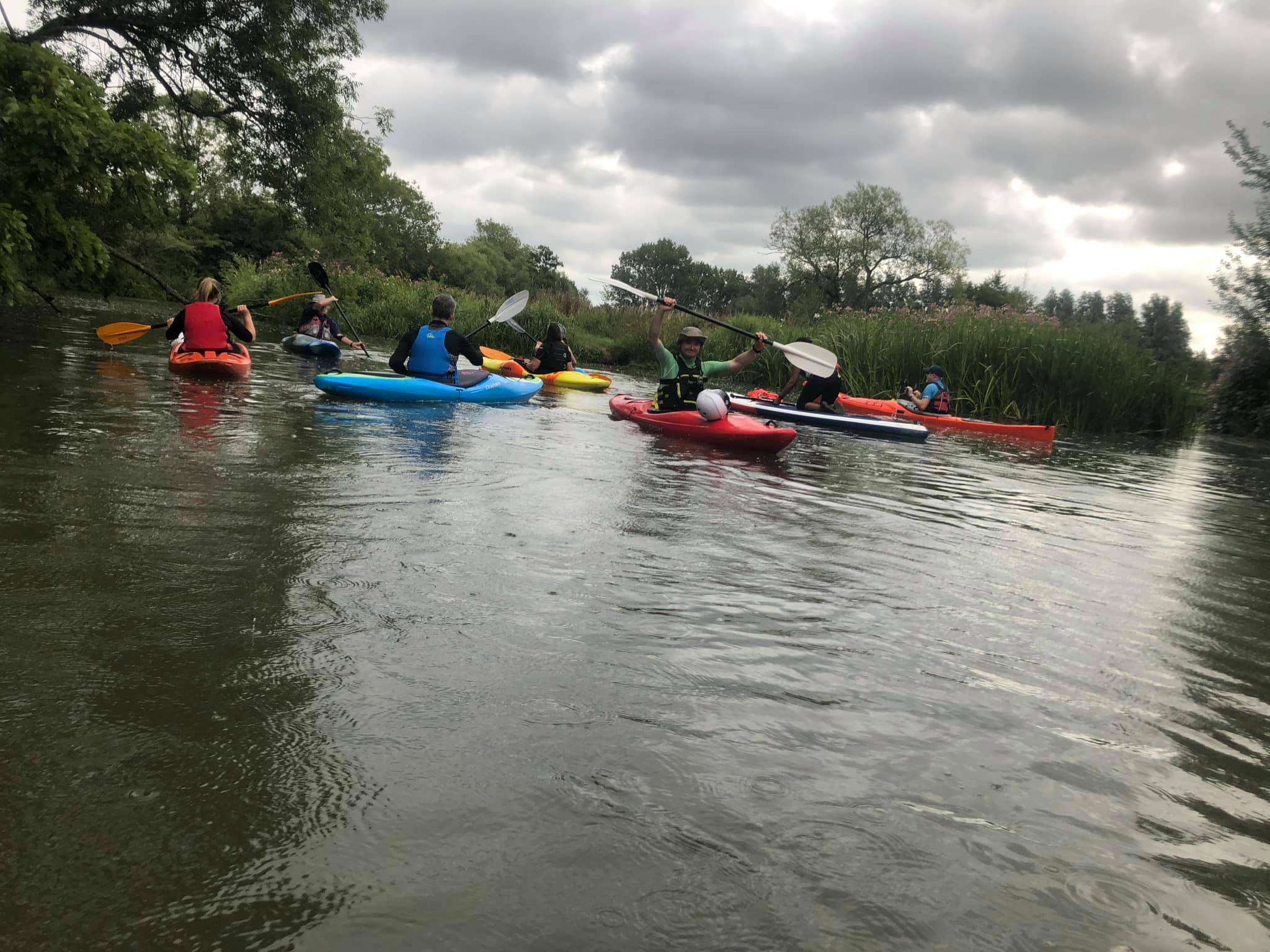Barcombe Mills to Isfield weir return